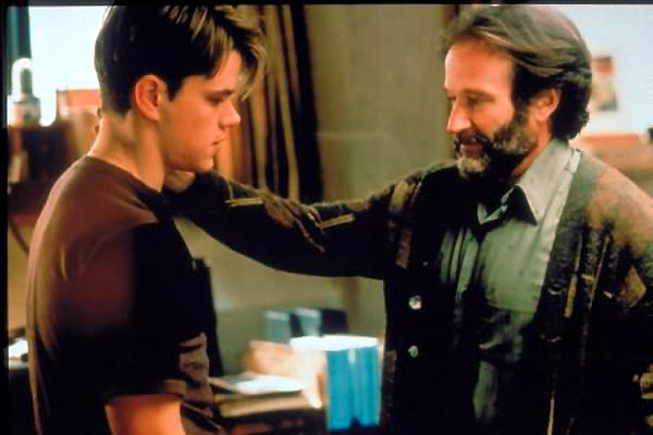 Good Will Hunting : Bild Gus Van Sant, Matt Damon, Robin Williams