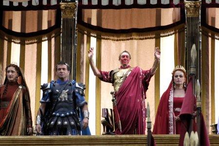 Rome : Bild Ciarán Hinds, James Purefoy, Polly Walker