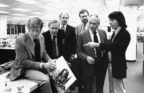 Die Unbestechlichen : Bild Alan J. Pakula, Dustin Hoffman