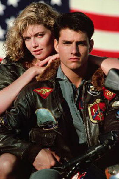 Top Gun : Bild Kelly McGillis, Tom Cruise