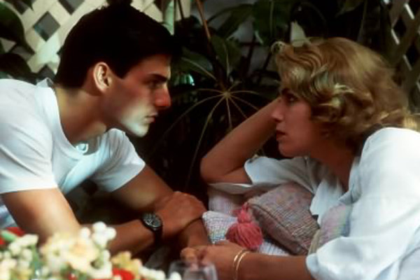 Top Gun : Bild Kelly McGillis, Tom Cruise