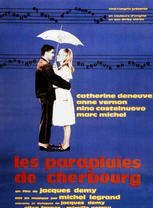 Die Regenschirme von Cherbourg : Bild Catherine Deneuve, Jacques Demy, Nino Castelnuovo