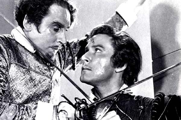 Der Herr der sieben Meere : Bild Claude Rains, Errol Flynn, Michael Curtiz