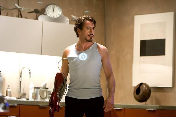 Iron Man : Bild Robert Downey Jr.