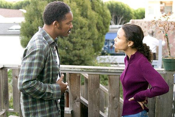 Das Streben nach Glück : Bild Thandie Newton, Will Smith