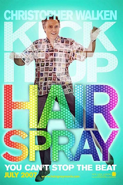 Hairspray : Kinoposter Adam Shankman, Christopher Walken