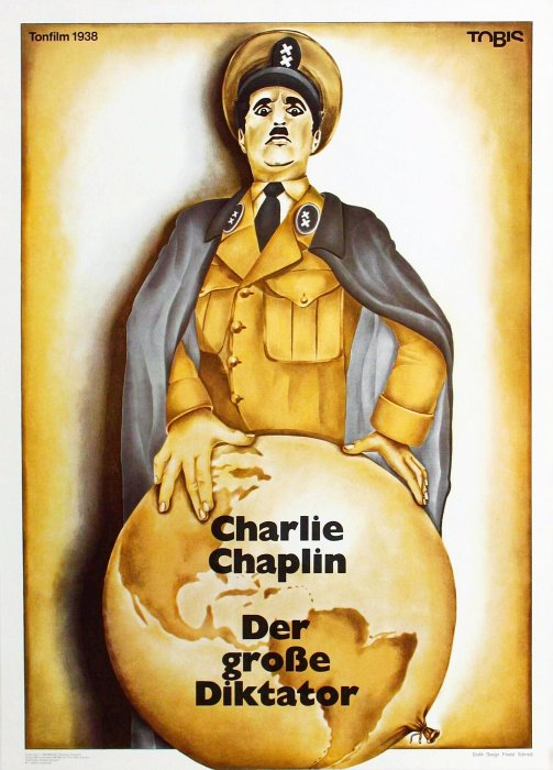 Der große Diktator : Kinoposter