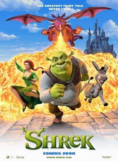 Shrek - Der tollkühne Held : Kinoposter