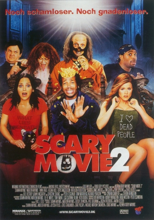 Scary Movie 2 : Kinoposter