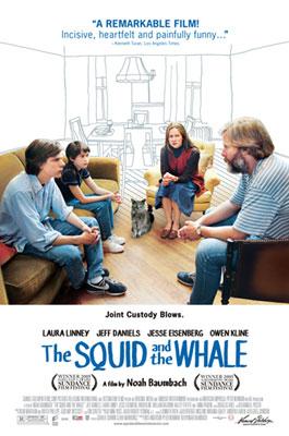 Der Tintenfisch und der Wal : Kinoposter