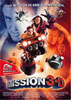Mission 3D - Game Over : Kinoposter