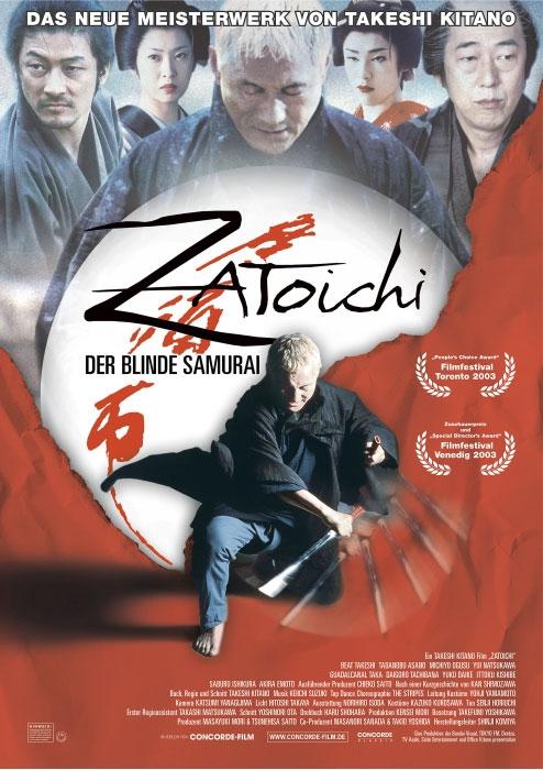 Zatoichi - Der blinde Samurai : poster