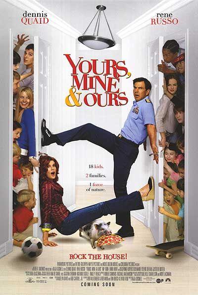 Deine, meine und unsere : Kinoposter