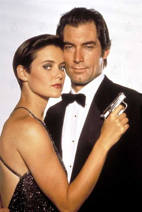 James Bond 007 - Lizenz zum Töten : Bild Carey Lowell, John Glen, Timothy Dalton