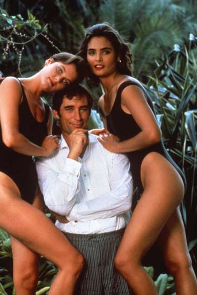 James Bond 007 - Lizenz zum Töten : Bild Carey Lowell, John Glen, Talisa Soto, Timothy Dalton