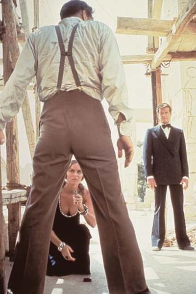 James Bond 007 - Der Spion, der mich liebte : Bild Barbara Bach, Richard Kiel, Roger Moore