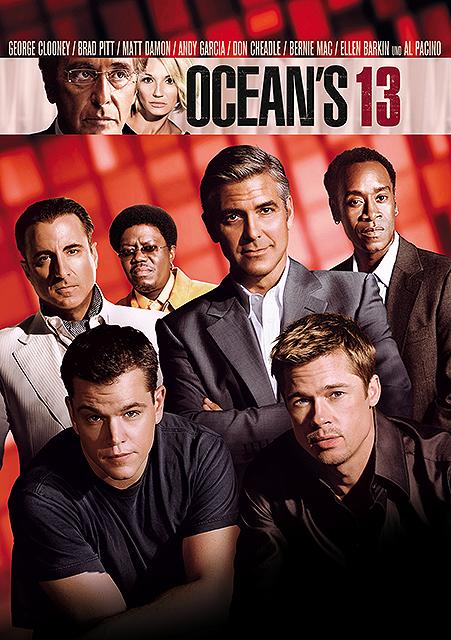 Ocean's Thirteen : Kinoposter