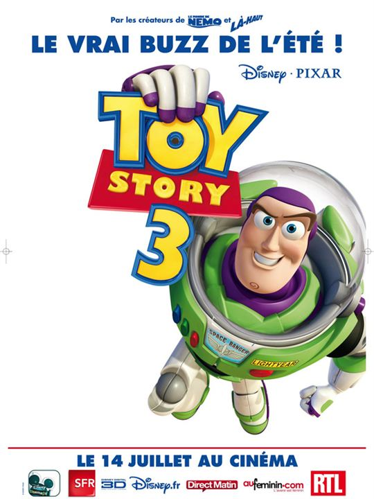 Toy Story 3 : Kinoposter Lee Unkrich