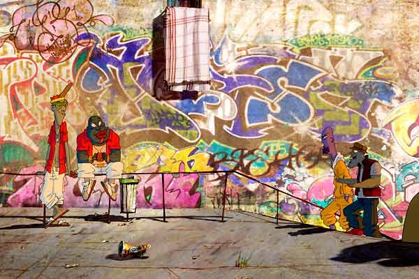 Jump Around : Bild Emmanuel Klotz