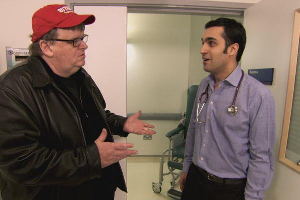 Sicko : Bild Michael Moore
