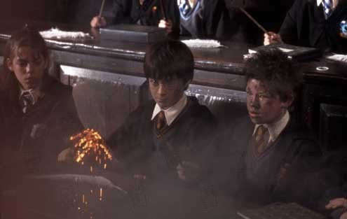 Harry Potter und der Stein der Weisen : Bild Daniel Radcliffe, Devon Murray