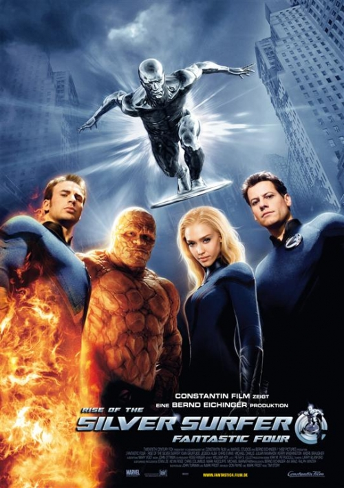 Fantastic Four: Rise of the Silver Surfer : Kinoposter