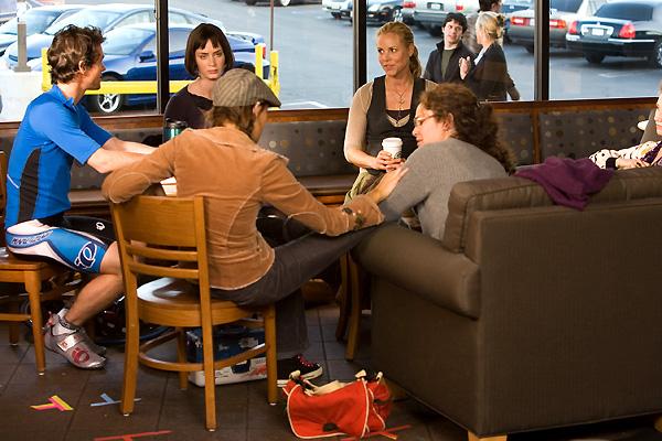 Der Jane Austen Club : Bild Amy Brenneman, Emily Blunt, Hugh Dancy, Kathy Baker, Maggie Grace