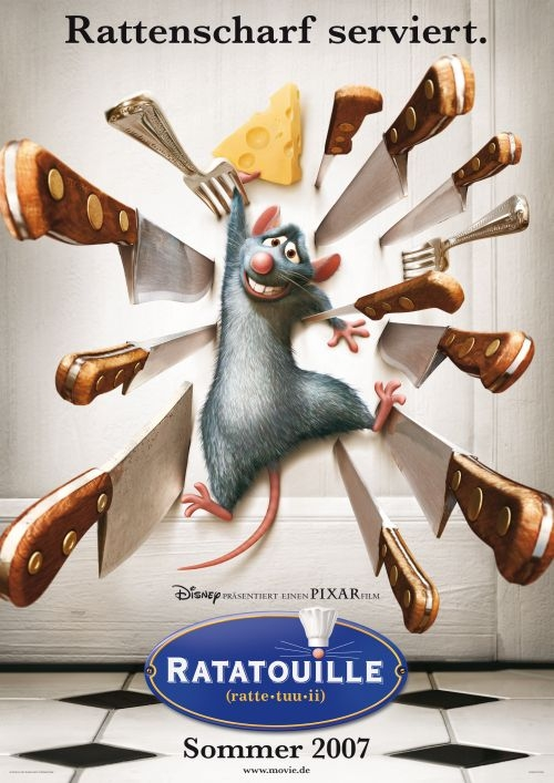 Ratatouille : Kinoposter