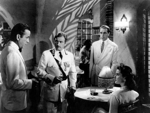 Casablanca : Bild Claude Rains, Humphrey Bogart, Michael Curtiz, Paul Henreid