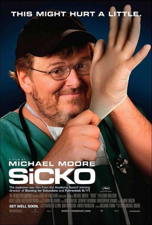 Sicko : Kinoposter