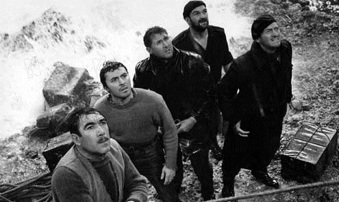 Die Kanonen von Navarone : Bild Anthony Quayle, Anthony Quinn, David Niven, Jack Lee Thompson, James Darren