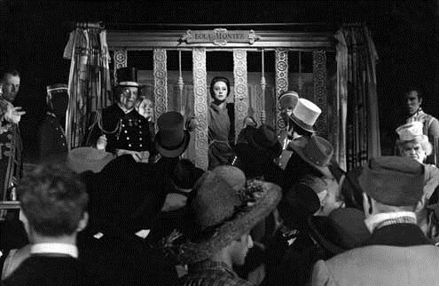 Lola Montez : Bild Martine Carol, Max Ophüls, Peter Ustinov