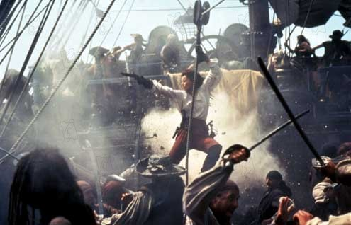 Die Piratenbraut : Bild Matthew Modine, Renny Harlin