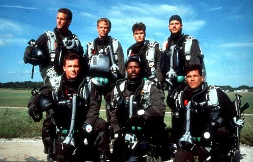 Navy Seals - Die härteste Elitetruppe der Welt : Bild Bill Paxton, Charlie Sheen, Cyril O'Reilly, Dennis Haysbert, Lewis Teague