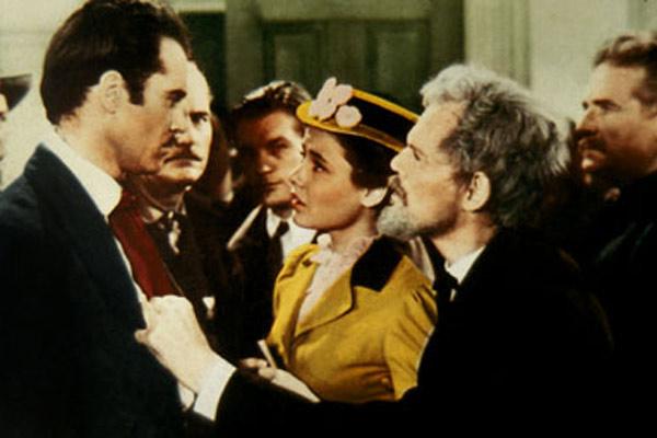 Rache für Jesse James : Bild Gene Tierney, Henry Fonda, Henry Hull