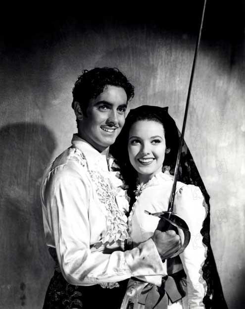 Im Zeichen des Zorro : Bild Linda Darnell, Rouben Mamoulian, Tyrone Power