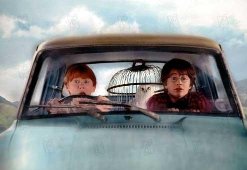 Harry Potter und die Kammer des Schreckens : Bild Daniel Radcliffe, Rupert Grint