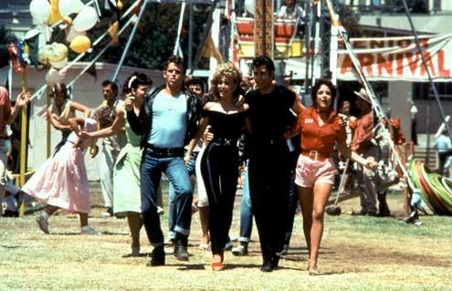Grease : Bild John Travolta, Olivia Newton-John, Stockard Channing