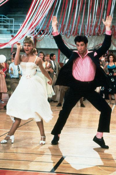 Grease : Bild John Travolta, Olivia Newton-John