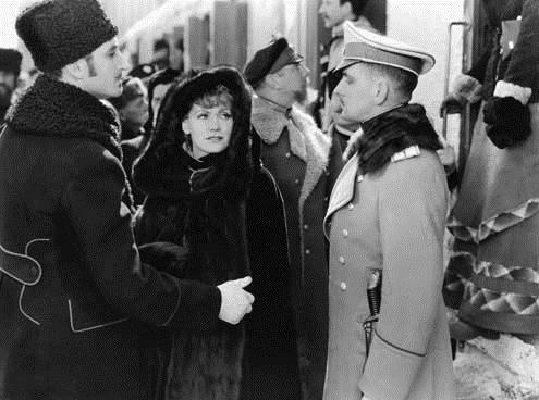 Anna Karenina : Bild Basil Rathbone, Clarence Brown, Fredric March, Greta Garbo