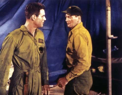 Stählerne Schwingen : Bild John Wayne, Nicholas Ray, Robert Ryan