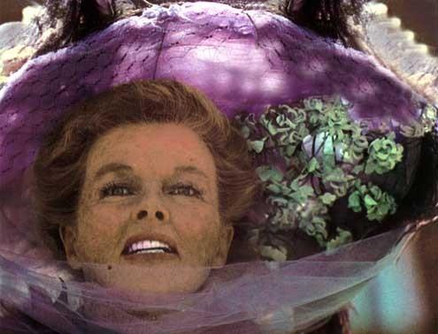 Die Irre von Chaillot : Bild Bryan Forbes, Katharine Hepburn