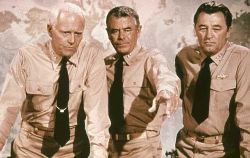 Schlacht um Midway : Bild Glenn Ford, Jack Smight, Robert Mitchum