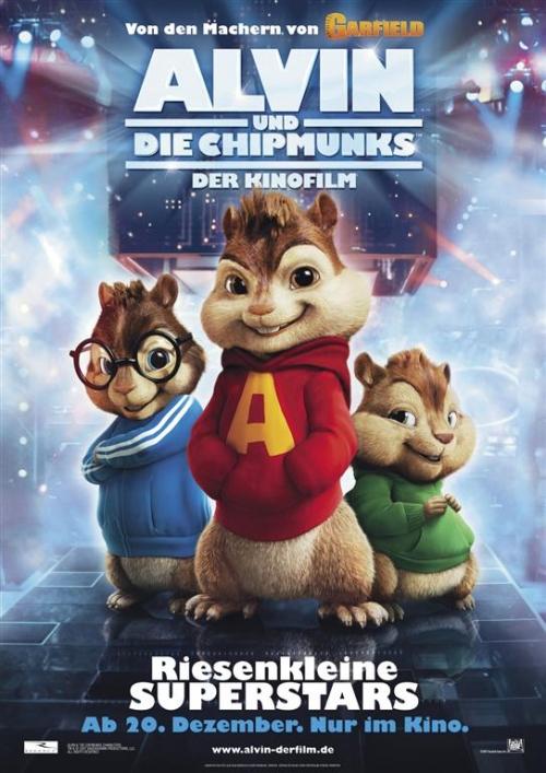 Alvin und die Chipmunks : Kinoposter