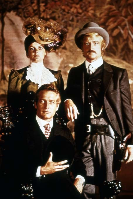 Zwei Banditen - Butch Cassidy and the Sundance Kid : Bild George Roy Hill, Katharine Ross, Robert Redford