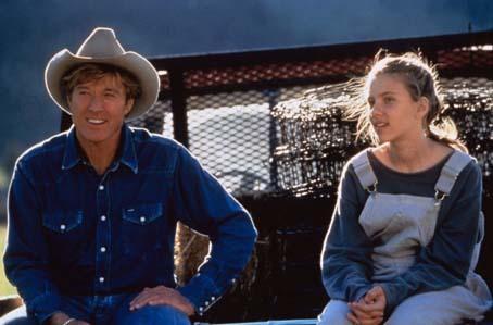 Der Pferdeflüsterer : Bild Robert Redford, Scarlett Johansson
