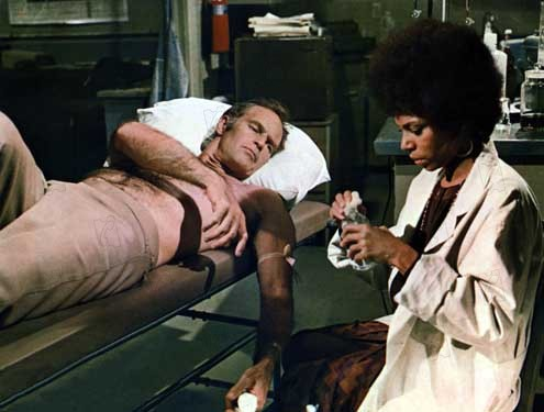 Der Omega-Mann : Bild Boris Sagal, Charlton Heston, Rosalind Cash
