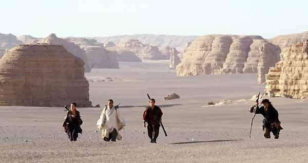 Forbidden Kingdom : Bild Jackie Chan, Jet Li, Michael Angarano, Yifei Liu