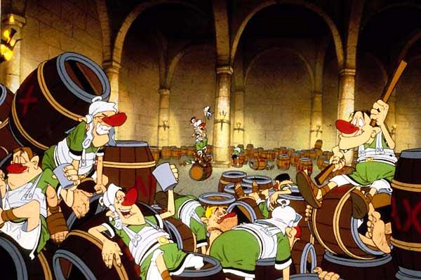 Asterix bei den Briten : Bild Pino van Lamsweerde