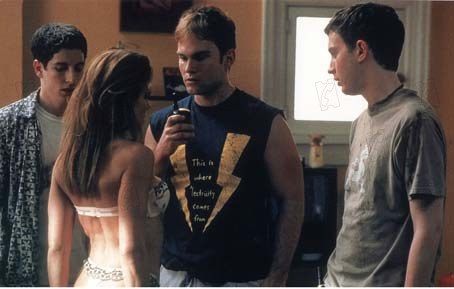 American Pie 2 : Bild Eddie Kaye Thomas, James B. Rogers, Jason Biggs, Seann William Scott